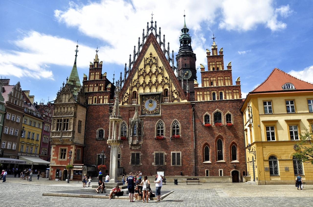 Busy Wrocław Niemcy